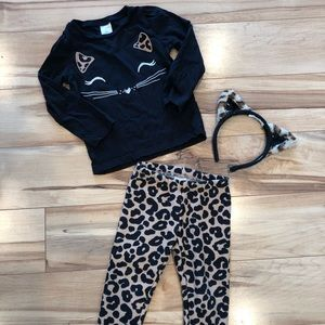 2T cheetah print outfit, Gymboree